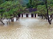 Xã Quảng Sơn tan hoang sau lốc xoáy, lũ lụt