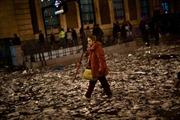 Thủ đô Tây Ban Nha ngập rác vì bãi công
