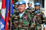 Campuchia điều gần 300 binh sĩ gìn giữ hòa bình tới Mali