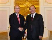 Phó Thủ tướng Nguyễn Xuân Phúc hội đàm với Phó Thủ tướng Hyun Oh-Seok