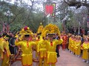 Hội Gióng đầu xuân tại đền Sóc
