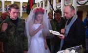 Đám cưới giữa loạn lạc ở Kiev