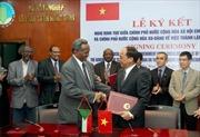 Tăng cường hợp tác Việt Nam - Sudan