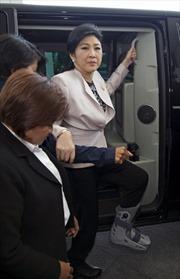 Bà Yingluck đối diện Ủy ban chống tham nhũng