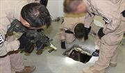 Phát hiện 2 'siêu đường hầm' buôn ma túy