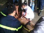 2 công nhân tử nạn, 4 nguy kịch vì ngạt khí mê tan