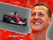 Huyền thoại đua xe M.Schumacher có dấu hiệu phục hồi