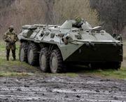 Ukraine: Xe quân sự hạng nặng tiến về Slavyansk