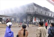Khởi tố vụ án và bị can vụ cháy chợ Phố Hiến