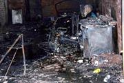 Cháy nhà dân, 2 người bỏng nặng