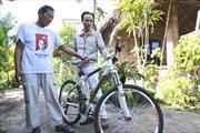 Xe đạp tre của lão nông