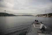 Tàu chiến USS Donald Cook rời Biển Đen, lính Mỹ tới Latvia