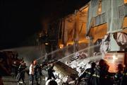 Đã khống chế đám cháy nhà máy giấy Bắc Ninh