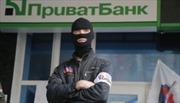 Ngân hàng lớn nhất Ukraine ngừng giao dịch ở miền đông