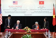 Việt Nam ký Hiệp định hợp tác năng lượng hạt nhân với Mỹ