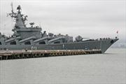 Tàu tuần dương tên lửa Nga sắp tập trận với Trung Quốc