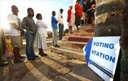 Kết quả bầu cử sơ bộ tại Nam Phi: ANC dẫn đầu