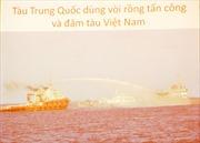 Biển Đông lại dậy sóng dữ!
