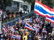 Phe đối lập Thái Lan tiếp tục nêu yêu sách