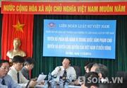 Liên đoàn Luật sư VN họp bất thường phản đối Trung Quốc