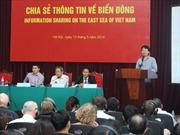 Chia sẻ thông tin về Biển Đông với các tổ chức phi chính phủ