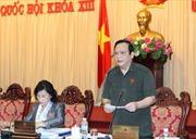 Chuẩn bị nội dung cho Kỳ họp thứ 7, Quốc hội khóa XIII