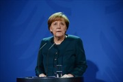 Thủ tướng Đức gặp các lãnh đạo tài chính, kinh tế thế giới