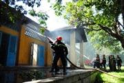 Cháy nhà nài voi trong Khu di tích Biệt điện Bảo Đại