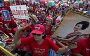 """Thái Lan: Thủ lĩnh phe """"Áo Đỏ"""" tuyên bố tiếp tục biểu tình"""