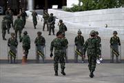 Thái Lan ban bố lệnh giới nghiêm sau đảo chính