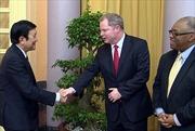 Chủ tịch nước tiếp đại diện Tập đoàn Dầu khí Exxonmobil