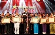 'Vinh quang Việt Nam' - Tạo sức lan tỏa rộng lớn trong xã hội