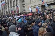 Biểu tình đòi người giàu nhất Ukraine rời Donbass