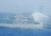 Phát hiện tàu tên lửa tấn công nhanh, tàu quét mìn quanh giàn khoan