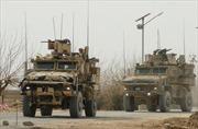 Xe của Lãnh sự quán Mỹ tại Afghanistan bị tấn công