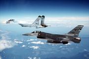 Máy bay tiêm kích Nga chặn máy bay trinh sát Mỹ