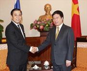 Phó Thủ tướng Phạm Bình Minh tiếp quyền Ngoại trưởng Thái Lan