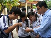 Chấm thi tốt nghiệp theo quy trình nghiêm ngặt