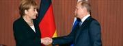 Lãnh đạo Đức - Nga lạnh mặt nhìn nhau
