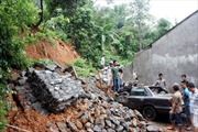 Sạt lở núi gây chết người tại Hà Giang