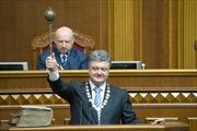 Tổng thống Ukraine không thỏa hiệp với Nga về vị thế Crimea