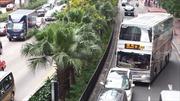 Cảnh giác mất cắp hành lý trên xe buýt ở Hong Kong