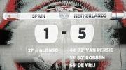 Người Tây Ban Nha duy nhất ăn mừng thất bại của đội nhà