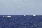 Tàu Trung Quốc chạy tốc độ cao cắt mặt tàu Kiểm ngư Việt Nam