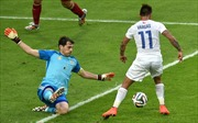 Chile –Tây Ban Nha: Lần thứ 5 đương kim vô địch bị loại ở vòng đấu bảng