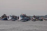 Malaysia: Lại đắm thuyền, 9 người mất tích