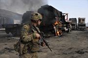 Taliban tấn công căn cứ hậu cần Mỹ ở Afghanistan