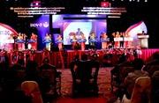 Ngân hàng Liên doanh Lào-Việt kỷ niệm 15 năm thành lập