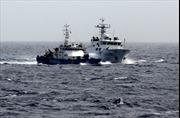 Tàu Hải giám Trung Quốc bám đuổi, ngăn cản tàu Cảnh sát biển Việt Nam