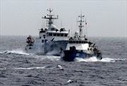 Tàu Kiểm ngư Việt Nam bị 3 tàu Trung Quốc vây ép, va đâm móp méo